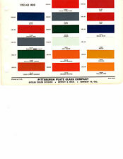 1953 1954 1955 1956 1957 1958 1950 TO 1963 REO TRUCK PAINT CHIPS 5263 DITZLER M9