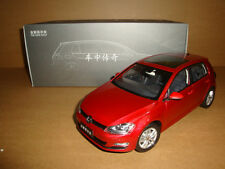1/18 2013 all new  volkswagen Golf 7 red color