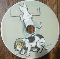 Vintage CECIL ALDIN animal artist dog horse Fox Hunting 12 illustrated books DVD