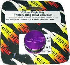 Golden Eagle GCS100-PUR  Honda Acura B H Series Cam Seal PURPLE B16 B18 B20 H22