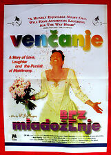 MURIEL'S WEDDING '95 TONI COLLETTE RACHEL GRIFFITHS ABBA MUSIC EXYU MOVIE POSTER