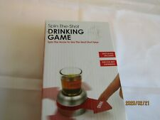 Spin-The-Shot Spinning Shot Glass Drinking Novelty Gift Game Giftable Box C