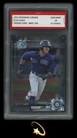 🌟2017 Kyle Lewis Bowman Chrome Rookie 1st Graded 10 Seattle Mariners RC Card🔥
