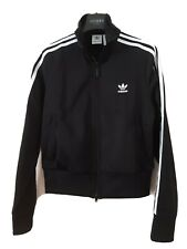 Ladies RETRO... ADIDAS Firebird Black track jacket , size 10 bnwot 🖤