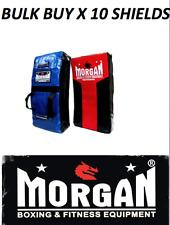10x hit kick bump training shields pads MORGAN BOXING RUGBY LEAGUE UNION 70cm