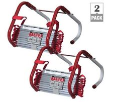 2 Story Escape Ladder(2-Pack) Portable Dorm Durable Safety Tangle Free Fire New