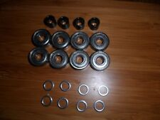 LOWEST PRICE ON EBAY  NEW SECTOR 9   GREASEBALL BEARINGS, SPACERS, SPEED WASHERS