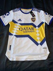 Adidas Boca Juniors Jersey - 2020 Away (White)M Riquelme