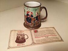 Limited Edition 1971 Beswick Royal Doulton Yule Christmas Carol Tankard Mug Nice