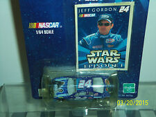 """WINNERS CIRCLE: Nascar Life time Series Jeff Gordon"""" Star Wars Episode 1"""" 1:64"""