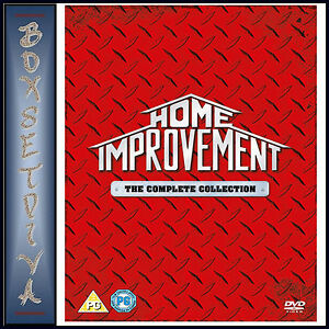 HOME IMPROVEMENT - COMPLETE SEASONS 1 2 3 4 5 6 7 & 8 *BRAND NEW DVD BOXSET**
