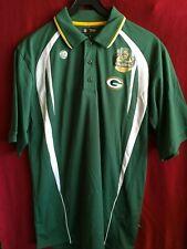 Green Bay Packers Polo Shirt by Reebok Medium