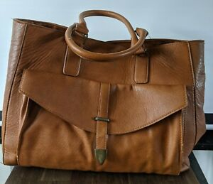 Pull & Bear Large 45cm Tote Bag. School/College. Fully Lined. Interior Pockets.