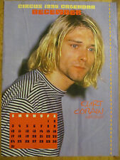 Kurt Cobain, Nirvana, Candlebox, Double Full Page Vintage Pinup