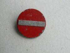 Original German WHW Winterhilfswerk Badge NO ENTRY..