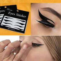 40 Pairs New Beautiful Temporary Eye Tattoo Transfer Eyeshadow Eyeliner Stickers