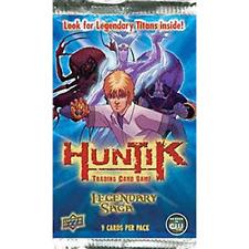 Huntik Trading Card Game Legandary Saga Booster Pack