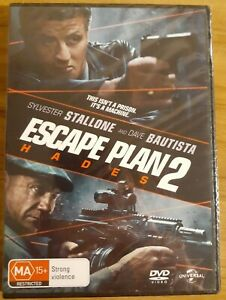 Escape Plan 2 - Hades DVD brand new still sealed