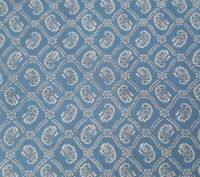 New Traditions BTY P&B Textiles Civil War Paisley Damask Colonial Blue