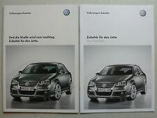 Prospekt Volkswagen VW Jetta Zubehör, 9.2008, 32 Seiten + Preisliste