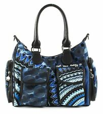 Desigual Blue Friend London Shoulder Bag Schultertasche Tasche Blue Indigo Blau