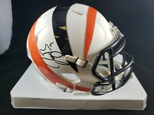 Joe Burrow Signed Autographed Cincinnati Bengals Amp Mini Helmet Fanatics