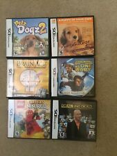 Lot Of 6 In Box Ds Games With Most Manuals
