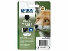 Epson T1281 DURABrite Ultra Ink, Black Single Pack, Cost Effective, Free P&P!