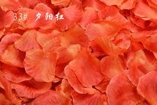100/1000pcs Wedding Silk Rose Petals Bridal Flowergirl Fake Flower Decoration