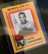 1997 Brown's Boxing 11th Set Complete Including #51 Floyd Mayweather Jr