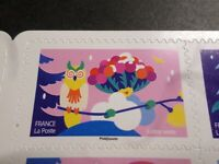 NOEL VOEUX FRANCE 2020, timbre AUTOADHESIF SPECTACULAIRE HIBOU neuf**, MNH