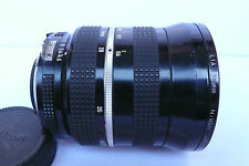 Nikon Zoom-Nikkor 28-45mm f4.5 Manual Ai Lens with 72mm Filter back Cap Rare