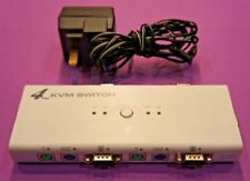 4 Port USB KVM Switch Box