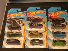 Hot Wheels 50th Anniversary Checkmate Series Complete 9 Car Set In Black Carded
