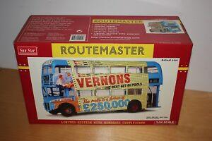 1/24 Sunstar AEC Routemaster Vernon's Pools 2905 WLT 686 Bus