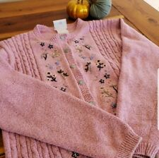 VINTAGE Northern Reflections Embroidered Cardigan