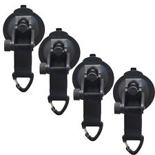 4x Suction Cup Anchor Securing Hook Tie Down,Camping Tarp as Car Side Awning