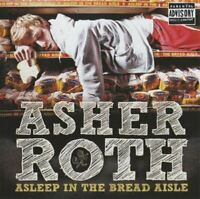 ASHER ROTH asleep in the bread aisle (CD, Album) Hip Hop, very good condition,
