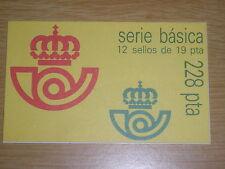 CARNET 2834C(II) BASICA REY 12 SELLOS. NUEVO.