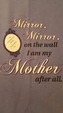 Gildan Periwinkle Blue Short Sleeve Tshirt Size XL - Mirror Mirror On The Wall