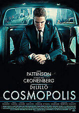 Cosmopolis (DVD, 2012) Cronenberg directs his finest cast Pattinson, Binoche