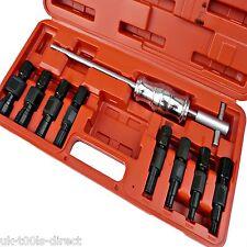 9pc Cojinete Interior agujero ciego Puller diapositiva martillo interno Kit de Herramientas Kit 8-32mm
