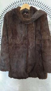 1980,s Vintage Coney Fur Coat. 100%  to Alzheimers society from this sale.