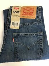 Levi's 550 Relaxed Fit Jeans Boys Sizes 8 Slim or 8, 10 or 12 Reg Retail $40.00