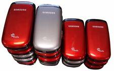 16 Lot Samsung Flip Gt-E1155L Cellular Basic Phone Locked Gsm Fm Used E1155