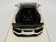 1/18 D&G MS Davis & Giovanni LB Aventador LP700 Type 1 SG50 Pearl White
