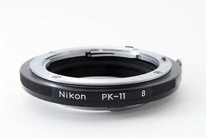 Near Mint Nikon PK-11 PK 11 AUTO EXTENSION RING Tube From Japan 649803