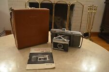 Vintage Polaroid Land Camera Model J66 With Case & Manual Excellent Condition
