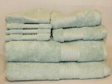Ralph Lauren Greenwich Blue Bathroom Towel Set Solid Color 100% Cotton New