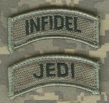 DAESH WHACKER GREEN BERETS ADVISORS in Syria URBAN WARFARE PATCH: Infidel Skull
